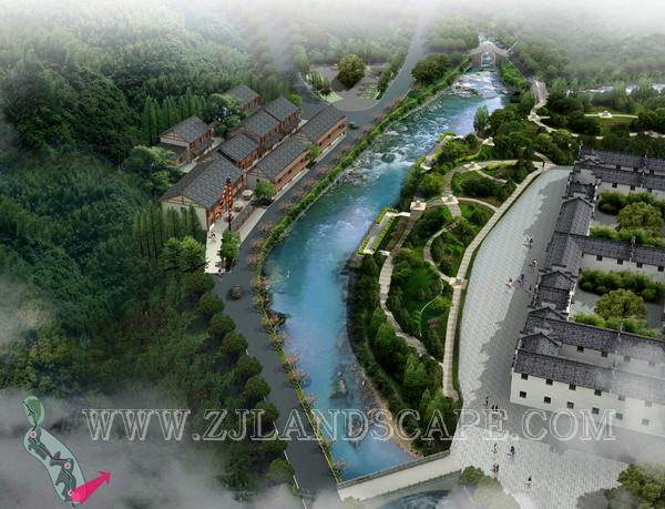 诸暨市美丽乡村景观规划设计(东白湖区块)